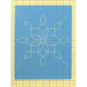 Full Line Stencil Twister by Hancy Full Line Stencils Pounce Pads & Quilt Stencils - OzQuilts