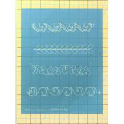 Full Line Stencil One Inch Borders By Darlene Epp by Hancy Full Line Stencils - Pounce Pads & Quilt Stencils