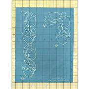 Full Line Stencil Vine Border By Anne Bright by Hancy Full Line Stencils Pounce Pads & Quilt Stencils - OzQuilts