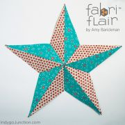 Fabriflair Wall Art Stars Pattern by Indygo Junction - Christmas