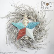 Fabriflair Tree Topper & Ornament Pattern by Indygo Junction - Christmas