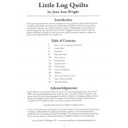 Little Log Quilts - 9 original patterns using Creative Grids Log Cabin Trim Tools by  Techniques - OzQuilts