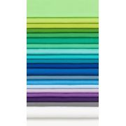 Mosaic Mountains 6.9 yards Kona Cotton Quilt Kit - Cool Colourway by Robert Kaufman Fabrics - Kits