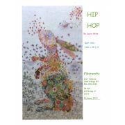 Hip Hop Rabbit Collage by Fiberworks Collage  - OzQuilts