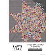 Lawn Star Acrylic Template by Jen Kingwell Designs by Jen Kingwell Designs Jen Kingwell Designs Templates - OzQuilts