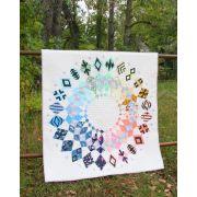 Cadence Court Quilt Pattern Book by Sassafras Lane Designs Paper Piecing - OzQuilts