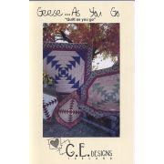 Geese As You Go - Quilt as you go Table Topper Pattern by  - Christmas