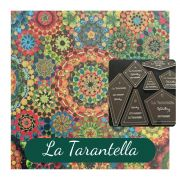 La Tarantella Template Set from Millefiori Quilts 3- Traditional Set in Extra Large Size by OzQuilts - Millefiori Book 1