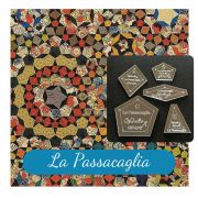 "La Passacaglia Template Set from Millefiori Quilts - Traditional Set in Original Size 1.25"" by OzQuilts - Millefiori Book 1"