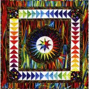 Happiness Quilt by Jacqueline De Jonge by BeColourful Quilts by Jacqueline de Jongue - Patterns & Foundation Papers