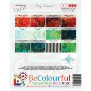 Day Dream Pattern & Foundation Papers by Jacqueline de Jongue by BeColourful Quilts by Jacqueline de Jongue Patterns & Foundation Papers - OzQuilts