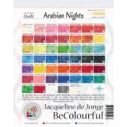 Arabian Nights Pattern & Foundation Papers by Jacqueline de Jongue by BeColourful Quilts by Jacqueline de Jongue Patterns & Foundation Papers - OzQuilts
