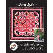Serendipity Pattern & Foundation Papers by Jacqueline de Jongue by BeColourful Quilts by Jacqueline de Jongue Patterns & Foundation Papers - OzQuilts