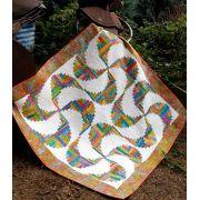 Rainbow Swirls Cut Loose Press Pattern by Cut Loose Press Patterns - Cut Loose Press Patterns
