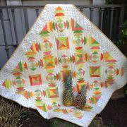 Pineapple Rings Cut Loose Press Pattern by Cut Loose Press Patterns Cut Loose Press Patterns - OzQuilts