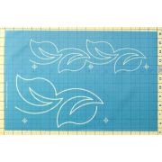 Full Line Stencil Spring String by Hancy Full Line Stencils - Pounce Pads & Quilt Stencils