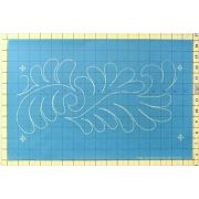 Full Line Stencil Flurry Of Feathers by Hancy Full Line Stencils - Pounce Pads & Quilt Stencils