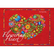 Flowering Heart Quilt Pattern by Karen Kay Buckley by Karen Kay Buckley Applique - OzQuilts