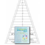 Double Wide Dresden Ruler by  Quilt Blocks - OzQuilts
