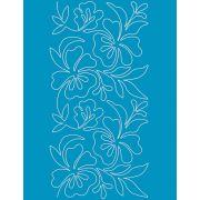 Full Line Stencil Blooming Things 8-1/2in by Hancy Full Line Stencils - Pounce Pads & Quilt Stencils