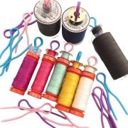 Bobbin Buddies 20 Blue, Pink & Purple by OzQuilts Thread Accessories - OzQuilts