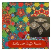 """Ballet with Kaffe Fassett Template Set from Millefiori Quilts 2 - Traditional Set in 2"""" Size by  Millefiori Book 2 - OzQuilts"""