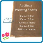 Teflon Coated Brown Applique Pressing Sheet Various Sizes by OzQuilts Applique Pressing Sheets - OzQuilts