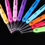 Crochet Hook With LED Lights - 9 Hook Set by OzQuilts - LED Lighted Crochet Hooks