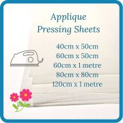 Transparent White Teflon Coated Applique Pressing Sheet Various Sizes by OzQuilts Applique Pressing Sheets - OzQuilts