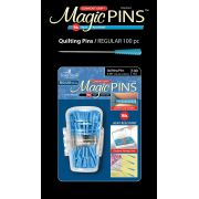 Magic Pins 100 Quilting Pins in Designer Case by Taylor Seville Patchwork & Quilting Pins - OzQuilts