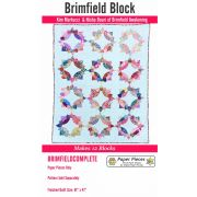 Paper Piecing Pack For Brimfield Quilt -  Makes 12 Blocks (No Pattern) by Paper Pieces - Paper Pieces Kits & Templates