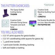 Rolling Stone Runner Cut Loose Press Pattern by Cut Loose Press Patterns - Cut Loose Press Patterns