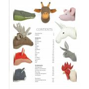 Sewn Animal Heads by  - Quilt Books