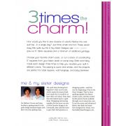 3 Times the Charm by Leisure Arts - Pre-cuts & Scraps