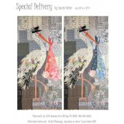 Special Delivery Collage Pattern by Fiberworks Collage  - OzQuilts