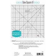 """Sew Kind of Wonderful 8"""" Sew Square by Sew Kind of Wonderful Specialty Rulers - OzQuilts"""