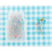 Lori Holt Pretty Pins - Sewing Pins Box Of 100 by Lori Holt from Bee in My Bonnet - Sewing Pins