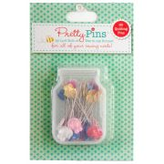 Lori Holt Pretty Pins - Quilting Pins Box Of 60 by Lori Holt from Bee in My Bonnet - Patchwork & Quilting Pins