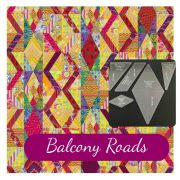 Balcony Roads Quilt Template Set designed by Kaffe Fassett for Free Spirit Fabrics by OzQuilts - OzQuilts Templates