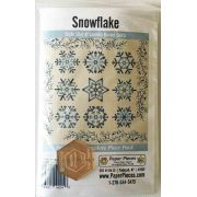Snowflake by Edyta Sitar of Laundry Basket Quilts -Pattern, Paper Piece and Acrylic Fabric Cutting Template Pack by Laundry Basket Quilts - Paper Pieces Kits & Templates