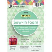 """Matilda's Own Sew In Foam Roll 15 Yards"""" x 58"""" by Matilda's Own - Bulk Rolls of Batting"""