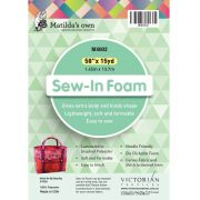 """Matilda's Own Sew In Foam 58"""" wide by Matilda's Own - Batting by the Metre"""