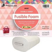 """Matilda's Own Double Sided Fusible Foam 58"""" wide by Matilda's Own - Batting by the Metre"""