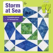 """Storm at Sea 16"""" Template Set by Matilda's Own - Quilt Blocks"""