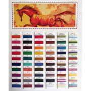 Accent Thread Colour Chart by Wonderfil Colour Card Booklets - Thread Colour Charts
