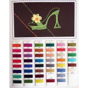 Razzle Thread Colour Chart by Wonderfil Razzle 8wt Rayon - Thread Colour Charts