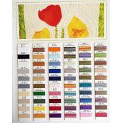 Silco Thread Colour Chart by Wonderfil Silco 35wt Cotton - Thread Colour Charts