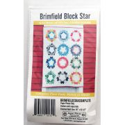 Brimfield Block Star Complete Piece Pack Makes 12 Blocks by Paper Pieces - Paper Pieces Kits & Templates