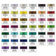 Wonderfil GlaMore Summer Shower (7126) 12wt Rayon & Metallic Thread 274m (300yd) spool by Wonderfil Glamore 12wt Rayon/Metallic - GlaMore 12wt Rayon & Metallic