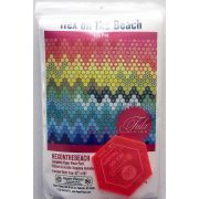 Hex On The Beach Pattern Piece Pack and Acrylic Template by Paper Pieces Paper Pieces Kits & Templates - OzQuilts